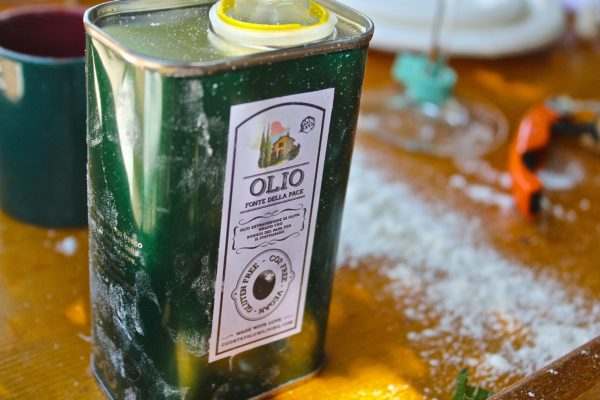One Tin 5 Liters - Olio della Pace Extra Virgin Olive Oil