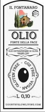 6 tins half litre each – Olio della Pace Extra Virgin Olive Oil