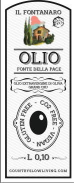 PROMOTION - 18 tins half litre each ( 16% saving) - Olio della Pace Extra Virgin Olive Oil